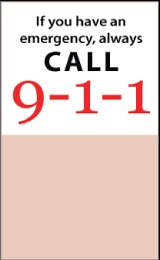 What to do in case of emergency? What to expect from 911