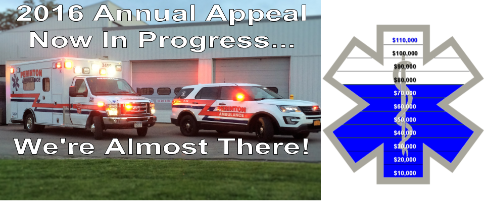 Your ambulance corps needs your support
